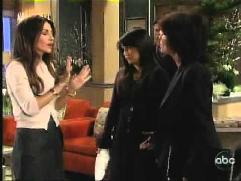 Brenda and Carly Throwdown --General Hospital February 7, 2011-- (видео)