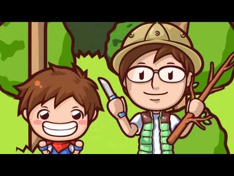 【CookingMama Movie】-Making A Fishing Rod With Papa!- パパと釣りざおをつくろう!