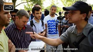 Video P2 - Di Mana Yesus Mengaku Tuhan?'  Mansur Vs Christians | Speakers Corner | Hyde park MP3, 3GP, MP4, WEBM, AVI, FLV Oktober 2018
