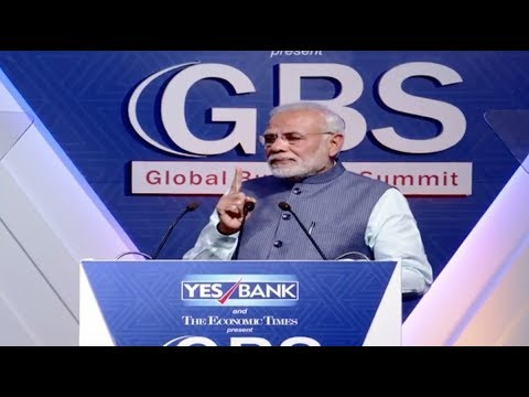 PM Narendra Modi's speech at ET Global Business Summit on 'Preparing India for the Future'.  Feb 23, 2018
