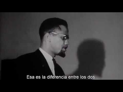 Malcolm X - Negro de la casa y Negro de campo