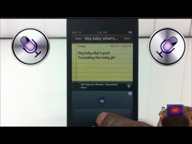 How To Get 'Siri' Dictation On iPhone 4, 3GS, IPod Touch 4 On iOS 5 With - 'Siri0us'