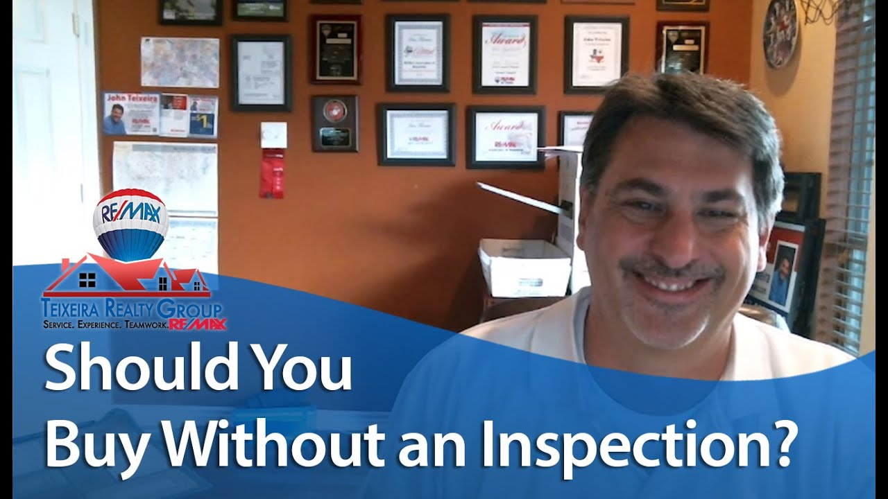 Should You Buy a Mansfield Home Without an Inspection?