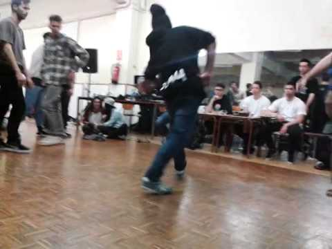 Destroyers da floor vol. 4 SEMIFINAL Jandro y Kilian vs. Born Natural Killerz