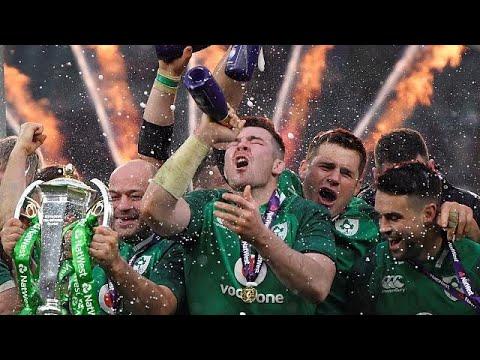 H Iρλανδία κατέκτησε το Six Nations