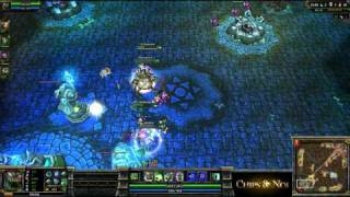 (HD077) Tutorial maokai roaming -Part3- League Of Legends Replay [FR]
