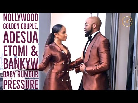 Nollywood Golden Couple Adesua & BankyW Expecting ABaby?
