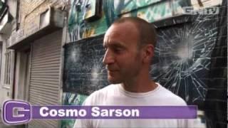 Cosmo Sarson - Graffiti artist Brick Lane