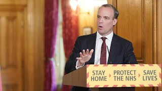video: Dominic Raab warns changes to lockdown restrictions will be 'modest'