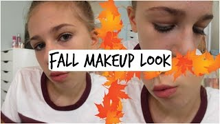 FALL MAKEUP LOOK| WARM AND FLAWLESS
