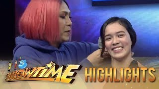 Video It's Showtime Copy-Cut: Vice Ganda helps Ate Girl with her FUNishment MP3, 3GP, MP4, WEBM, AVI, FLV September 2018
