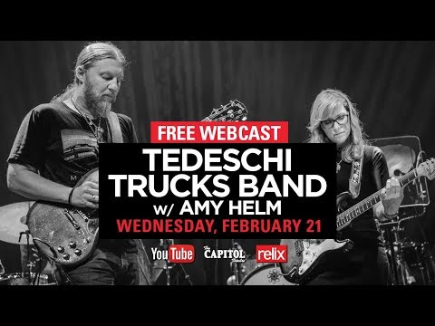 Tedeschi Trucks Band w/ Amy Helm :: The Capitol Theatre :: 02/21/18 :: Full Show (видео)