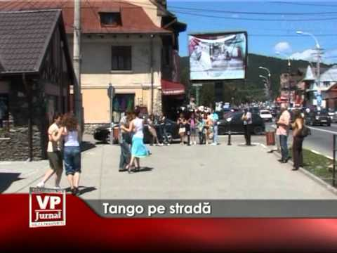 Tango pe strada
