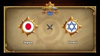 JPN vs ISR, game 1