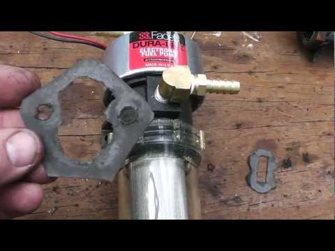 How to Change a Diesel Mechanical Fuel Pump to an Electric Pump