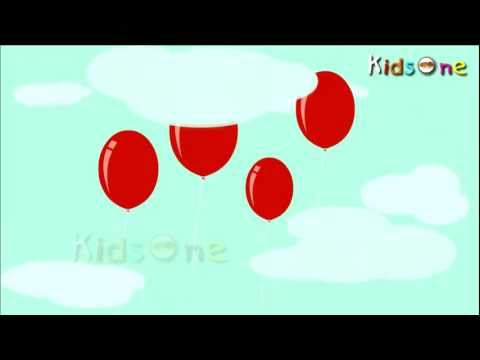 My Red Ballon  English Animated Rhymes for Kids