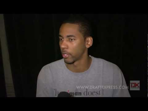 Keith Benson Draft Combine Interview
