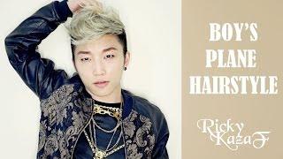 Boy's Plane HairStyle - RickyKAZAF