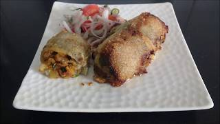 Stuffed Bombil by Kalpana Talpade / भरलेले बोंबील / Stuffed Bombay ducks
