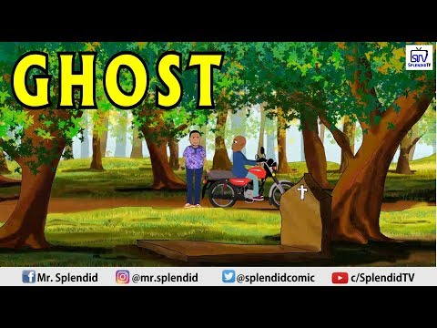 Ghost, Comedy Cartoon