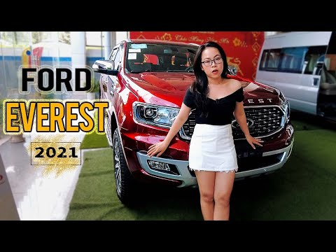 Ford Everest Titanium 2021 1 Cầu   Xe SUV 7 Chỗ Best-Seller Nhà Everest   Gái Mê Xe