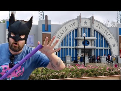 Six Flags Magic Mountain / DC Universe & Hall Of Justice