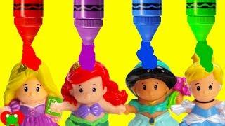 Video Best Learn Colors For Preschool Disney Princess Grow With Magical Color Potion MP3, 3GP, MP4, WEBM, AVI, FLV Mei 2017