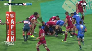 Western Force v Reds Rd.2 Super Rugby Video Highlights 2017