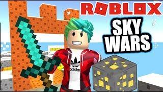 Batallas en Roblox | SkyWars Survival | Juegos Roblox Karim Juega