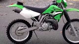 8. 2005 Kawasaki KDX220R #K4544