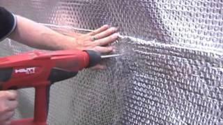 Basement Wall Waterproofing - Conserve 97% Heat Loss