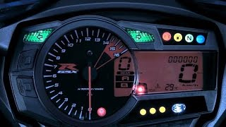 7. 2011-2014 Suzuki GSXR 750 Shift Light Tutorial