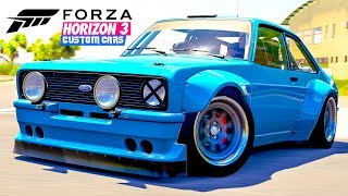 In this episode of Forza Horizon 3 Custom Cars, I build up the epic widebody Ford Escort RS1800 from the Hoonigan DLC/car pack!Subscribe if your new & hit the notification so that you don't miss any of my future videos! ― https://www.youtube.com/user/EKDrifter458My Twitter ― https://twitter.com/EKDrifter458Facebook ― https://www.facebook.com/EKDrifter458Facebook Fan Group ―https://www.facebook.com/groups/112905172241363/My Instagram ― https://www.instagram.com/drift_panda_official/Patreon ― https://www.patreon.com/EKDrifter458Intro Song ― I Took A Pill In Ibiza (Seeb Remix) by Mike PosnerOutro Song ― In My Head by GalantisThank you very much for watching guys & have yourself a wonderful day :)