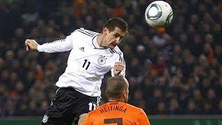 Das Kopfballungeheuer Miroslav Klose