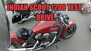 4. 2017 Indian Scout Test Drive