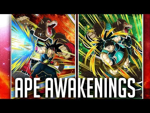 F2P BARDOCK, SHUGESH & MORE APES OVERPOWERED DOKKAN AWAKENINGS! DBZ Dokkan Battle