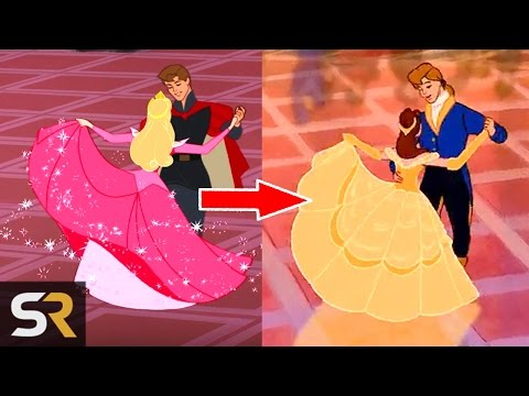 Recycled Movie Scenes In Disney Films