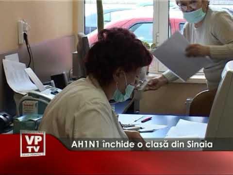 AH1N1 inchide o clasă din Sinaia