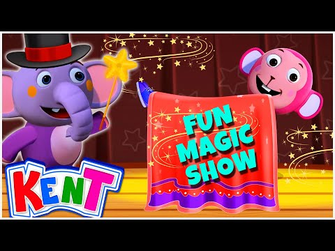 Kent The Elephant | Fun Magic Show With Kent | Phonics Song for Children | Alphabet Song