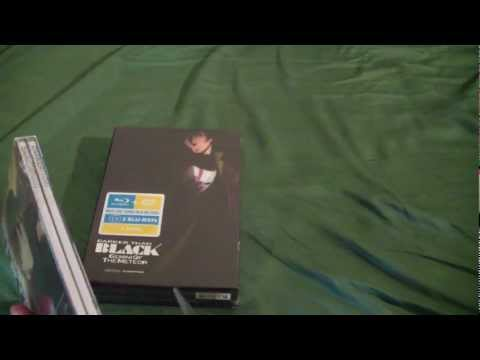 Darker Than Black (Seasons 1&2) Limited Edition Unboxing