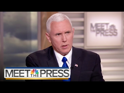 Mike Pence Travel Ban On Solid Constitutional Ground Full Interview  Meet The Press  NBC News