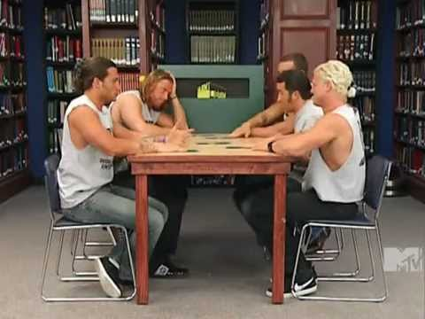 Library - featuring Dolph Ziggler, Chris Masters, Trent Barreta, Caylen Croft, JTG and Curt Hawkins.