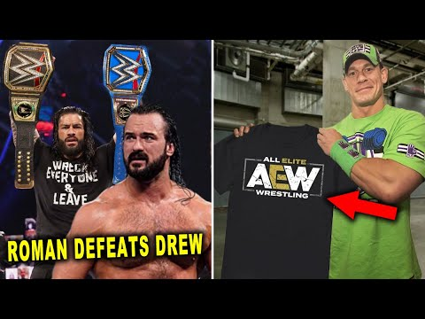 John Cena Leaves WWE for AEW & Roman Reigns Becomes Double Champion - 5 WWE Rumors September 2020