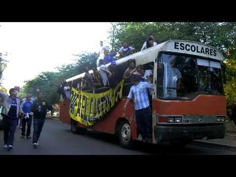 la caravana de almirantevs a gimnasia (full HD) - La Banda Monstruo - Almirante Brown