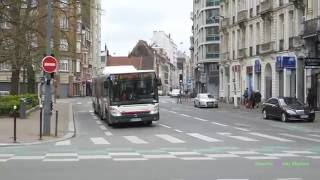 Lille France  city photos gallery : Buses in Lille, France 2016