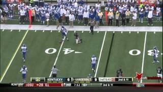 Alvin Dupree vs Vanderbilt (2013)