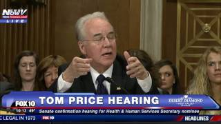PART 2: Tom Price Confirmation Hearing, CONTROVERSIAL Secretary of Health & Human Services Nominee