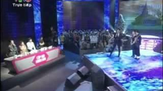 Cap doi hoan hao 2011 - Dam Vinh Hung va Kim Thu (clip 1) - Chung ket cap doi hoan hao tuan 8 chu nh