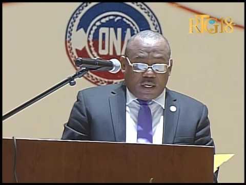 Haïti.- 51ème anniversaire de l'Office National Assurance Veillesse (ONA)