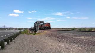 Youngtown (AZ) United States  city pictures gallery : BNSF 1071 M-BELPHX at El Mirage/Youngtown, AZ. July5, 2015